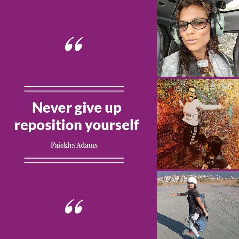 Faiekha Adams Quotes